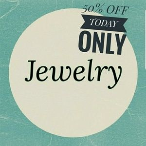 Jewelry - HUGE SALE 50% OFF ALL JEWELRY TODAY 2/14